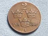 Швеция 2 эре 1939 года, фото №2
