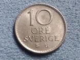 Швеция 10 эре 1969 года, фото №2