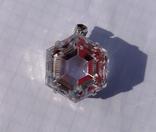 Кулон горный хрусталь, серебро., фото №7
