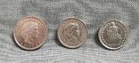 Швейцария. 20, 10 раппенов и 1/2 франка., фото №3