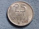 Швеция 25 эре 1964 года, фото №2