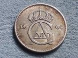 Швеция 25 эре 1964 года, фото №3