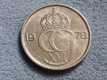 Швеция 25 эре 1978 года, фото №3