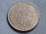 Швеция 1 крона 1973 года, фото №2