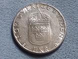 Швеция 1 крона 1989 года, фото №2