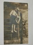 Открытка 1910-1950 годы.   №126, фото №2
