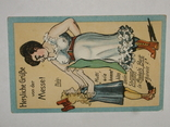 Открытка 1900-1945 годы Юмор Сатира  №131, фото №3