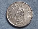 Швеция 5 крон 1984 года, фото №3