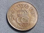 Швеция 5 крон 1989 года, фото №3