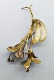 """Латунная брошь """"цветок"""" 12,29 грамм., фото №5"""