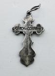 Крестик серебро, фото №6
