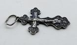 Крестик серебро, фото №8