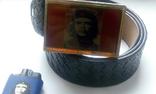 """Стильный набор  """"Че Гевара"""" - ремень, зажигалка, значок., фото №7"""