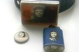 """Стильный набор  """"Че Гевара"""" - ремень, зажигалка, значок., фото №10"""