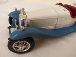 Автомобиль Alfa Romeo 2300 Spider (1932). Bburago. Италия, фото №6