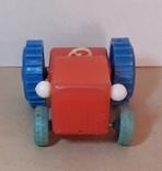 Игрушка Трактор длина 12 см, фото №4