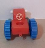 Игрушка Трактор длина 12 см, фото №5