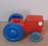 Игрушка Трактор длина 12 см, фото №6