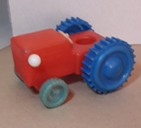 Игрушка Трактор длина 12 см, фото №2