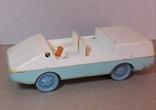 Машинка пластмасс. из СССР длина 14 см., фото №2