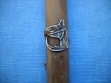 Палочка или указка с накладками из серебра 84 пробы, фото №6
