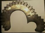 Нимб серебряный, старинный, фото №3