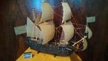 Макет, копія першого лінійного корабля Петра 1, фото №2