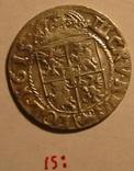 1615: ,  3 Крейцера Сигизмунд III Ваза (две точки), фото №2