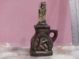 Мини бутылочка керамика 60-90 годы, не вскрывалась, фото №3
