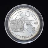200 Эскудо 1995 Золотой век открытий - Австралия (Серебро 0.925, 26.5г), Португалия, фото №2