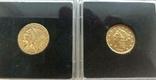 США 10 монет золото 1$  2,5$  5$  10$  20$, фото №11