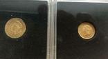 США 10 монет золото 1$  2,5$  5$  10$  20$, фото №13