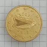50 евроцентов 2002г Ирландия, фото №2