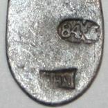 Серебрянный нательный крестик 84 проба (АНЧ) 0,7 грамма, фото №4