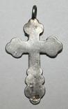 Серебрянный нательный крестик 84 проба (Н.К) 2,3 грамма, фото №3