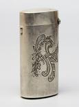 Серебрянная спичечница 84 проба 1875 года (E.L-И.С) 19,3 грамма, фото №4
