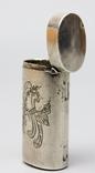 Серебрянная спичечница 84 проба 1875 года (E.L-И.С) 19,3 грамма, фото №8