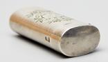 Серебрянная спичечница 84 проба 1875 года (E.L-И.С) 19,3 грамма, фото №9