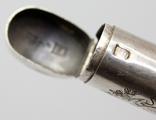 Серебрянная спичечница 84 проба 1875 года (E.L-И.С) 19,3 грамма, фото №11