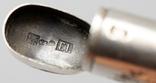 Серебрянная спичечница 84 проба 1875 года (E.L-И.С) 19,3 грамма, фото №12