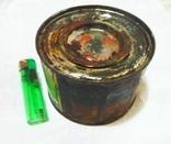 Краска масляная художественная эскизная сине-зелёная. Упаковка 700 гр., фото №4