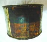 Краска масляная художественная эскизная сине-зелёная. Упаковка 700 гр., фото №8