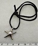 Подвеска Морская Звезда серебро 925, фото №2