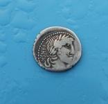 90 год до н. э. Монетарий - C. Vibio Pansa, фото №7