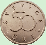 95. Швеция 50 эре, 2003 год, фото №3