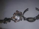 Заколка,подвеска,браслет.(3шт), фото №4