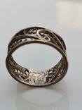 Кольцо, серебро, фото №6