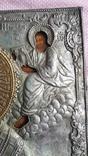 Икона Св. Николай. Оклад серебро., фото №5