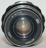 Объектив Индустар-61 Л/Д (2,8:55.,дальномерный,макросъемка), фото №8