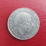 Франция. 1 франк 1988 г. 300 лет Республике, фото №3